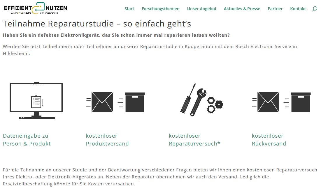 Reparaturstudie effizientnutzen.de
