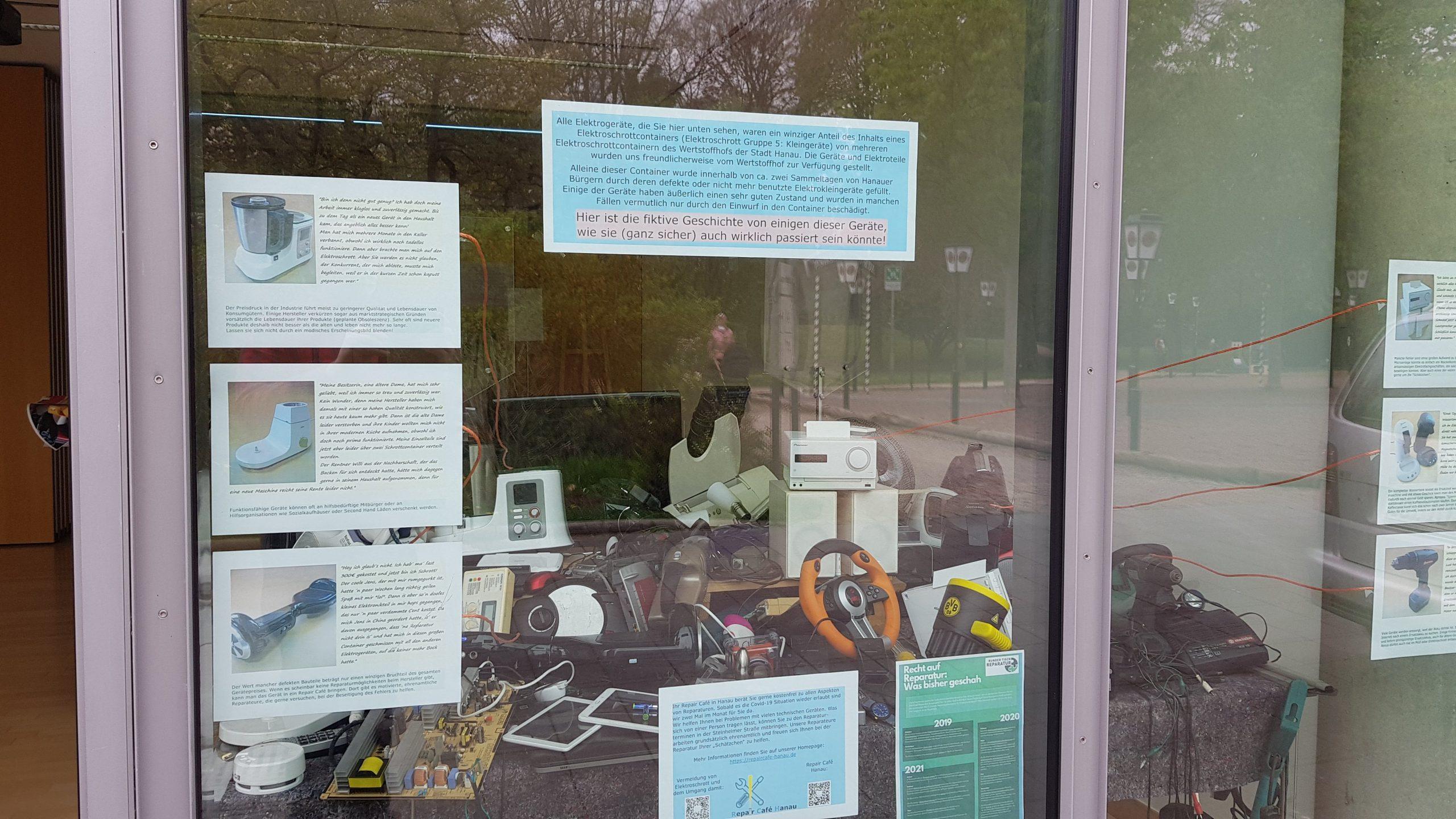 Schaufenster Ausstellung im CPH